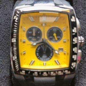 Adee Kaye - Tachymetre Chronograph 10M Watch